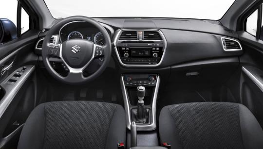 interieur S-Cross GL
